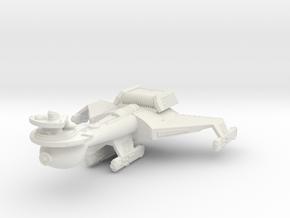 3788 Scale Romulan K10R Battleship WEM in White Natural Versatile Plastic
