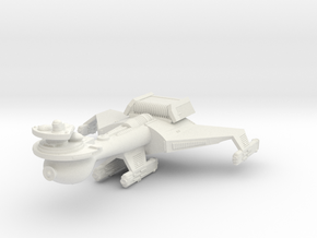 3125 Scale Romulan K10R Battleship (Smooth) WEM in White Natural Versatile Plastic