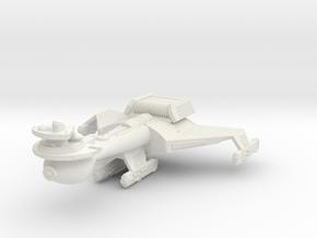 3788 Scale Romulan K10R Battleship (Smooth) WEM in White Natural Versatile Plastic