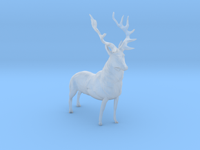 HO Scale Elk in Smooth Fine Detail Plastic