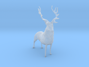 S Scale Elk in Smooth Fine Detail Plastic