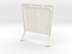 046006-01 FAV & Wild One Roof with Light Bar&Wing in White Processed Versatile Plastic