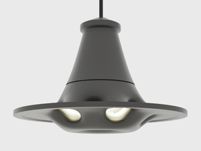 UFO Pendant Light Type B in Black Natural Versatile Plastic: Extra Small