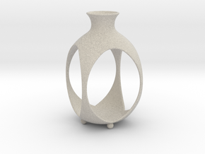 Tea Light Lantern | Vase in Natural Sandstone