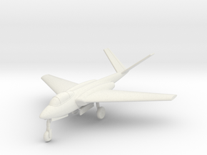 1/144 Heinkel P.1079A in White Natural Versatile Plastic