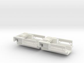 7202A • 2×British M14 Half-track Body in White Natural Versatile Plastic