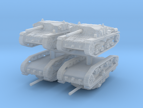 Semovente M42 75/34 (4 pieces) 1/160 in Smooth Fine Detail Plastic