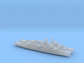 USS England x2 (Buckley Class) 1/2400 in Smooth Fine Detail Plastic