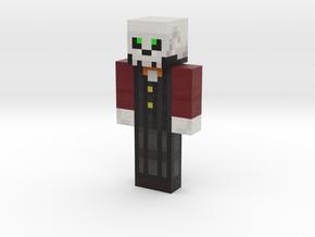skelet00nygamer   Minecraft toy in Natural Full Color Sandstone