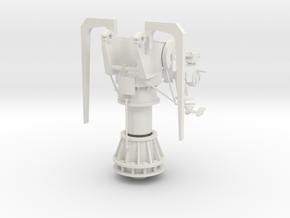 Part 1 cradle and temple in White Natural Versatile Plastic