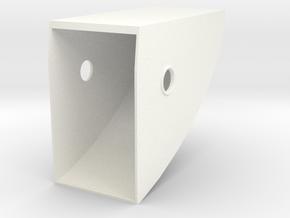 1.2.7 HUGHES 500D COCKPIT (A) in White Processed Versatile Plastic