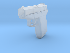 1:3 Miniature Kel-Tec P-11 in Smooth Fine Detail Plastic