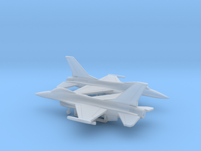 General Dynamics F-16A Fighting Falcon in Smooth Fine Detail Plastic: 1:350