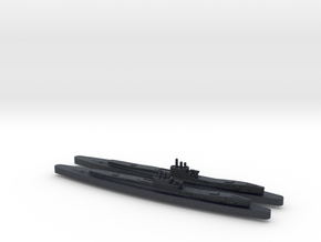 HMS Clyde X2 (Thames/River Class) 1/1800 in Black PA12