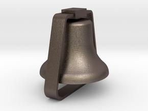 Diesel Bell in Polished Bronzed-Silver Steel
