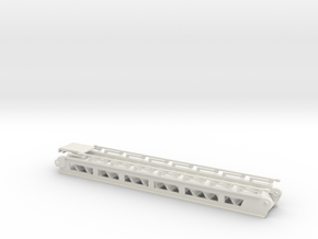 accommodation ladder2 S steps - 1:50 in White Natural Versatile Plastic