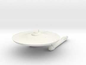 2500 Genghis class TOS in White Natural Versatile Plastic