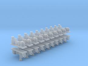 Zentrifugalpumpe ältere Bauart 20erSet - TT 1:120 in Smooth Fine Detail Plastic