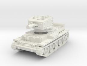 Centaur IV Tank 1/56 in White Natural Versatile Plastic
