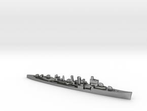HMS Delhi 1:1800 WW2 naval cruiser in Natural Silver