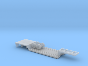 1-87 Scale Transit RGN Trailer v2 in Smooth Fine Detail Plastic