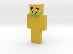 Tiller336 | Minecraft toy in Natural Full Color Sandstone