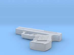 1:3 Miniature Walther P99 Gun in Smooth Fine Detail Plastic