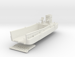 LCM 3 Landing Craft 1/200 in White Natural Versatile Plastic