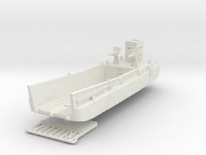 LCM 3 Landing Craft 1/120 in White Natural Versatile Plastic