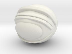 SpaceHelmetv3kA1 in White Natural Versatile Plastic