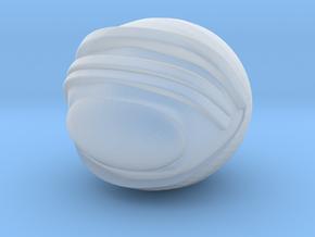SpaceHelmetv3kA1 in Smooth Fine Detail Plastic