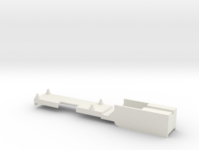 DCC Decoder mount for Athearn Models (BB, RTR). Ma in White Natural Versatile Plastic