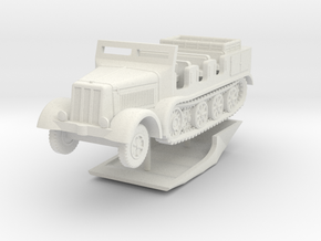 1/160 (N) Sd.Kfz.8 in White Natural Versatile Plastic