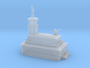 Air traffic control tower /security building in Smooth Fine Detail Plastic