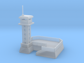 Guard tower for wargames in Smooth Fine Detail Plastic