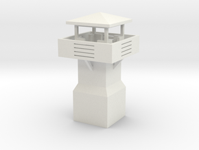 Guard tower 3 in White Natural Versatile Plastic