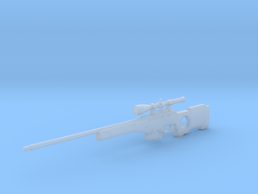 1:6 Miniature Mauser SRG Desert in Smooth Fine Detail Plastic
