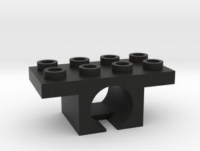 2x2 motor block version 2 in Black Natural Versatile Plastic