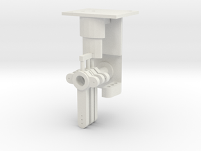 Signal Mech - 3 Arm in White Natural Versatile Plastic
