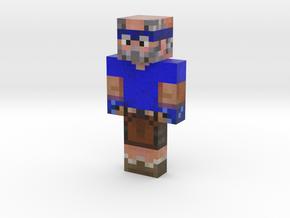 TruckpipeMC Blue | Minecraft toy in Natural Full Color Sandstone