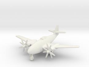(1:144) Messerschmitt Me262 Aufklärer II Turboprop in White Natural Versatile Plastic