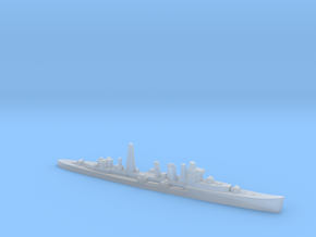 HMS Colombo AA cruiser (masts) 1:1800 WW2 in Smoothest Fine Detail Plastic