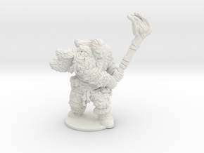 Game of thrones giant Wun Wun 1/60 miniature games in White Natural Versatile Plastic