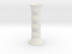 Vase 21123 in White Natural Versatile Plastic
