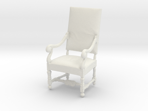 Printle Thing Chair 03 - 1/24 in White Natural Versatile Plastic