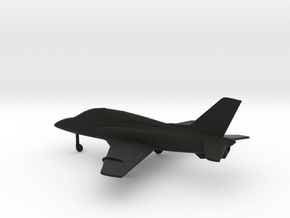 Soko G-4 Super Galeb in Black Natural Versatile Plastic: 1:160 - N