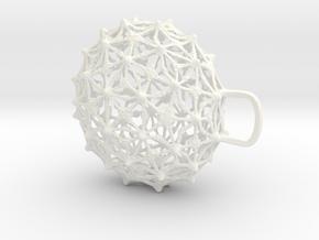 Pendant1 in White Processed Versatile Plastic