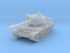 T55 Tank 1/200 in Smooth Fine Detail Plastic