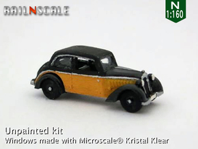 DKW F7 Meisterklasse (N 1:160) in Smooth Fine Detail Plastic