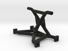 SCX10II Rear Shock Tower Chassis Brace in Black Natural Versatile Plastic